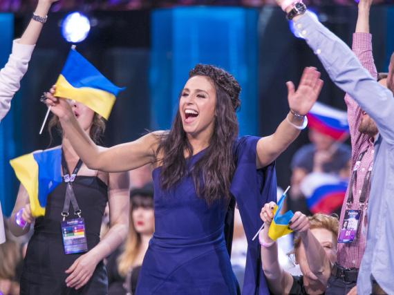 Jamala aus der Ukraine ist die umjubelte Siegerin beim ESC 2016