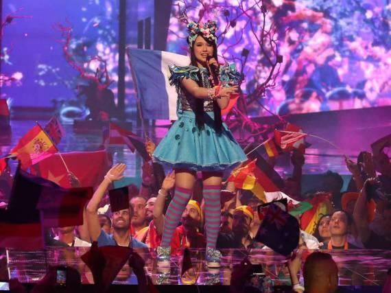 Jamie-Lee Kriewitz während ihres Auftritts beim ESC-Finale