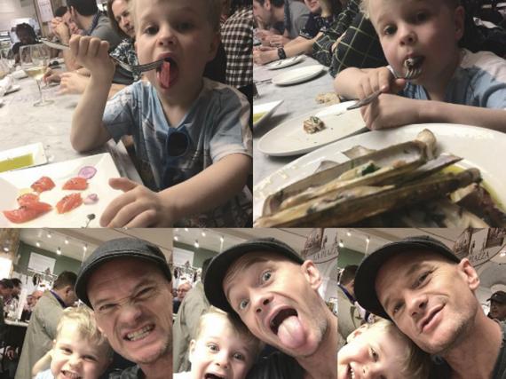 Neil Patrick Harris beweist, dass er neben dem Job noch genug Zeit für seine Kinder findet