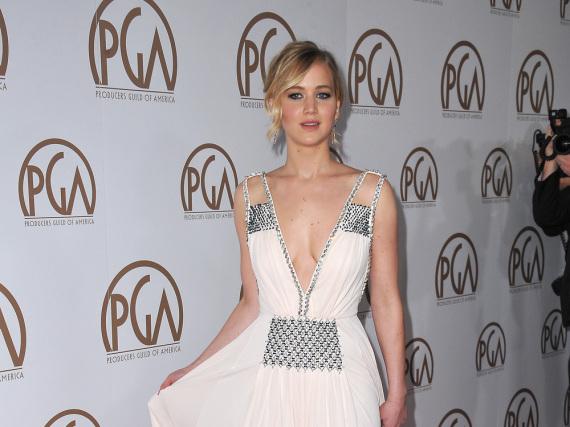 Jennifer Lawrence könnte bald mit Sandra Bullock vor der Kamera stehen