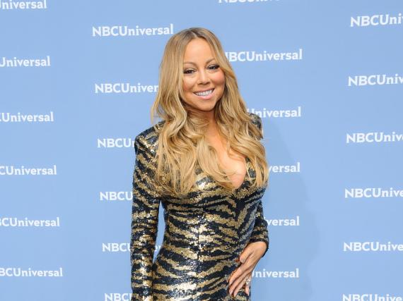 Mariah Carey gibt sich nach ihrem Stolperer selbstsicher