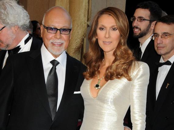 Céline Dion und René Angélil zusammen bei einer Gala im Jahr 2011