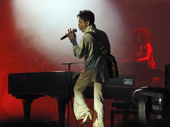 Prince bei einem Auftritt im britischen Kent