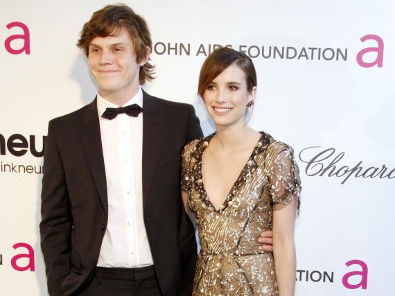 Emma Roberts und Evan Peters lernten sich 2012 kennen