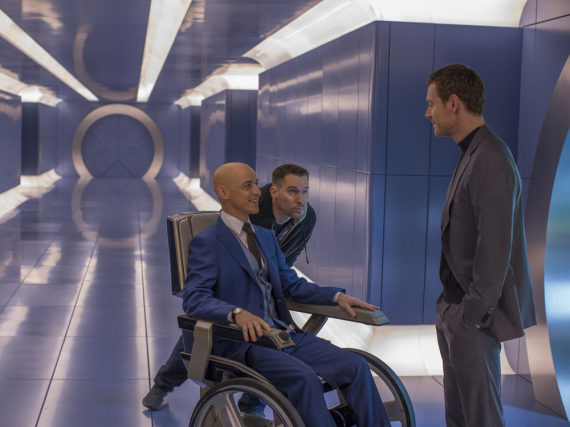Charles Xavier (James McAvoy) trifft seinen einstigen Freund Erik Lehnsherr (Michael Fassbender)