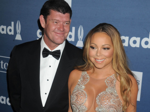 Wollen anscheinend beide einen Ehevertrag: James Packer und Mariah