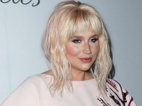 Kesha freut sich darüber, wieder auf der Bühne zu stehen