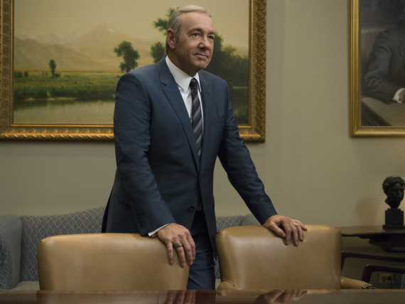 Kevin Spacey alias Francis Underwood in