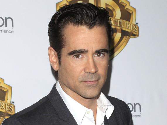 Colin Farrell hat zwei Söhne, Henry und James
