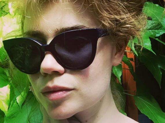 Palina Rojinski liebt den hippen Berliner Stil