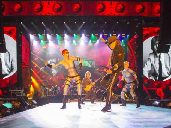 Udo Lindenberg gibt auf der Bühne alles