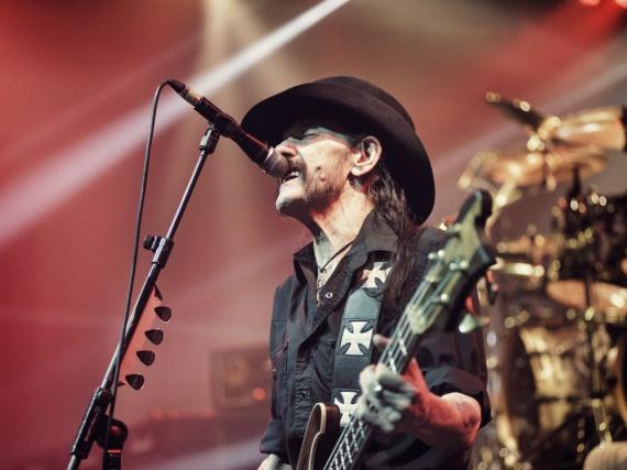 Lemmy Kilmister lebte für den Rock'n'Roll