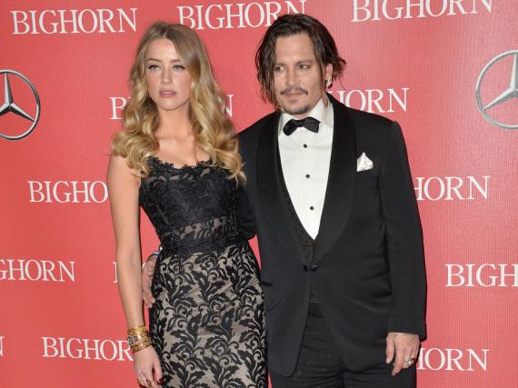 Ein Bild aus glücklicheren Zeiten: Amber Heard und Johnny Depp