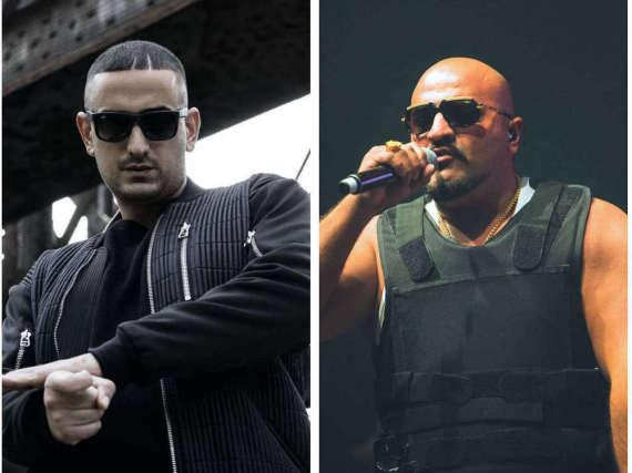 Die Rapper Haftbefehl (l.) und Xatar haben sich einem gemeinsamen Projekt gewidmet.