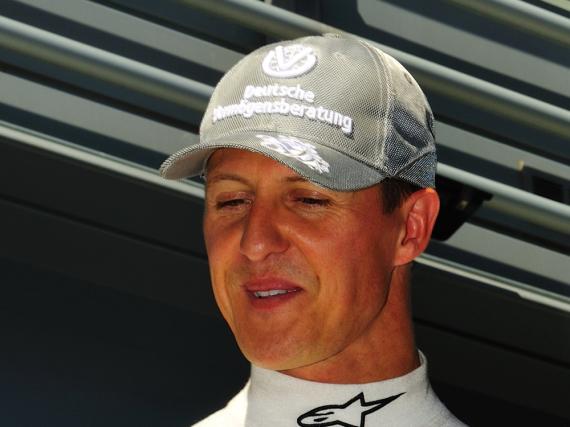 Michael Schumacher im Jahr 2010 beim Grand Prix von Monza in Italien
