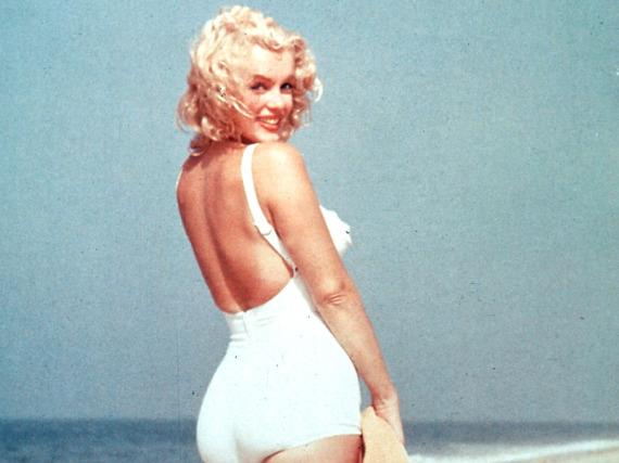Mit ihrem verführerischen Lächeln, den blonden Locken und dem kurvigen Körper machte sie die Männerwelt verrückt: Marilyn Monroe