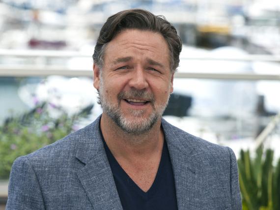 Russell Crowe bei der Vorstellung des Films