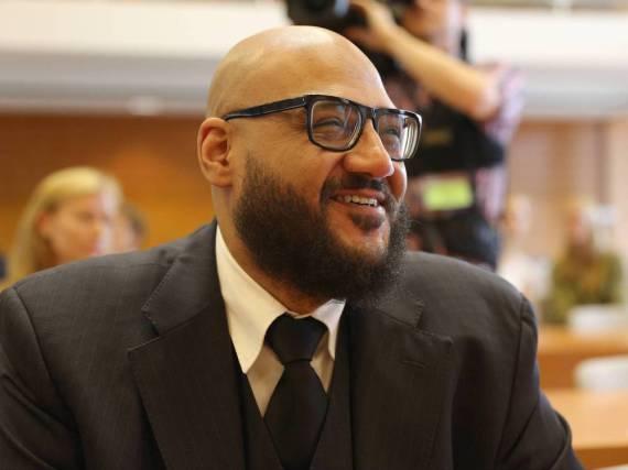 Produzent Moses Pelham bei der Urteilsverkündung am Dienstag in Karlsruhe