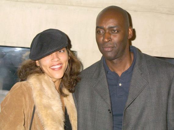 Ein Foto aus alten Zeiten: Michael und April Jace 2004, ein Jahr nach ihrer Hochzeit