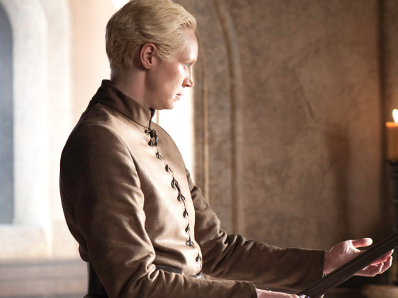 Brienne (Gwendoline Christie) in