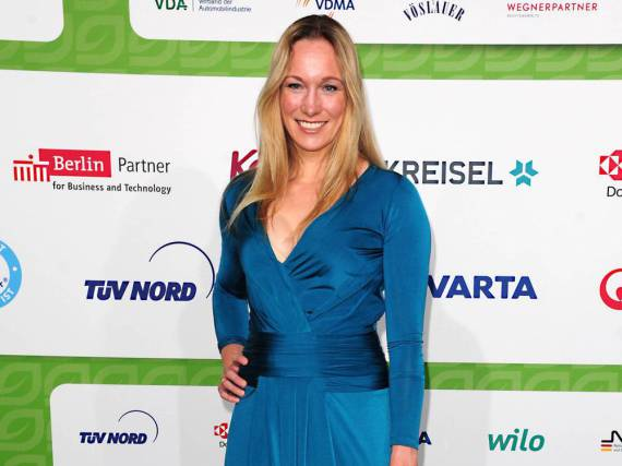 Dr. Christine Theiss bei der Verleihung der GreenTec Awards Ende Mai in München
