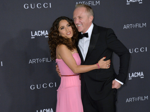 Salma Hayek ist seit neun Jahren mit François-Henri Pinault verheiratet