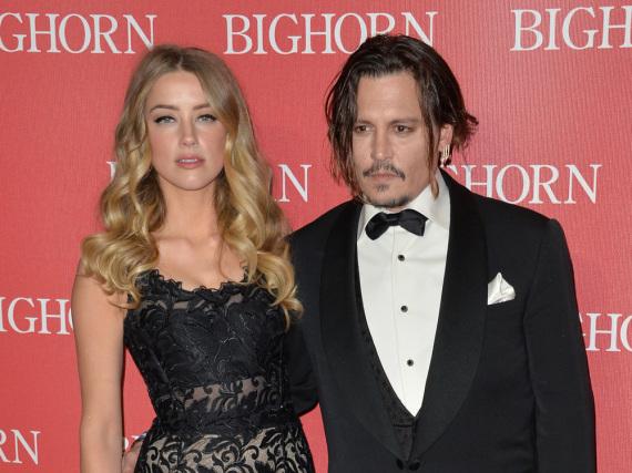 Im Januar traten Amber Heard und Johnny Depp noch als glückliches Paar auf