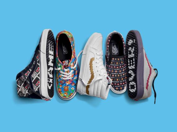 Diese kunterbunten Schuhe der Marke Vans sind bald erhältlich