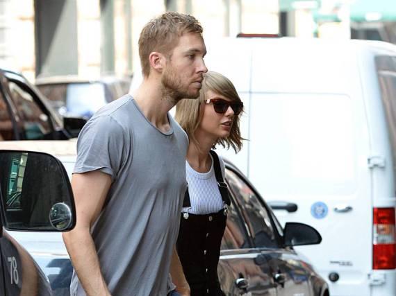 Eine Foto aus gemeinsamen Tagen: Taylor Swift und Calvin Harris Ende Mai in New York
