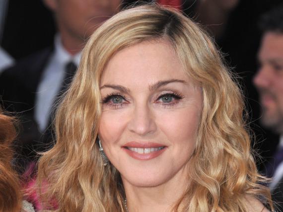 Glückliche Gewinnerin in einem Rechtssreit: Madonna