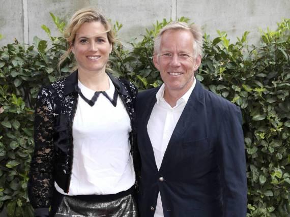 Bei einer Ausstellungseröffnung am 11. Mai 2016 zeigten sie sich noch gemeinsam: Johannes B. Kerner und Britta Becker