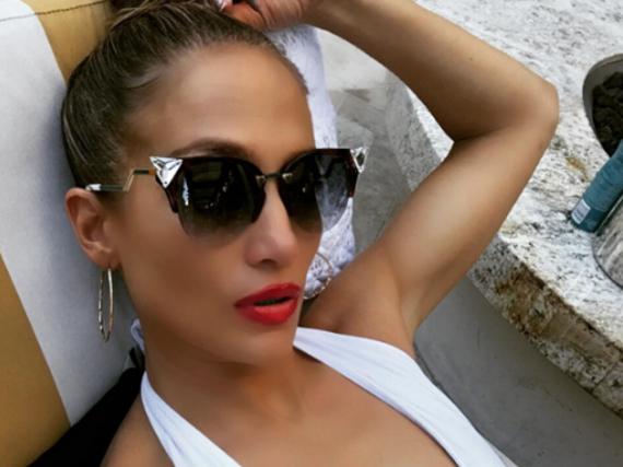Jennifer Lopez lässt es sich in Las Vegas gut gehen