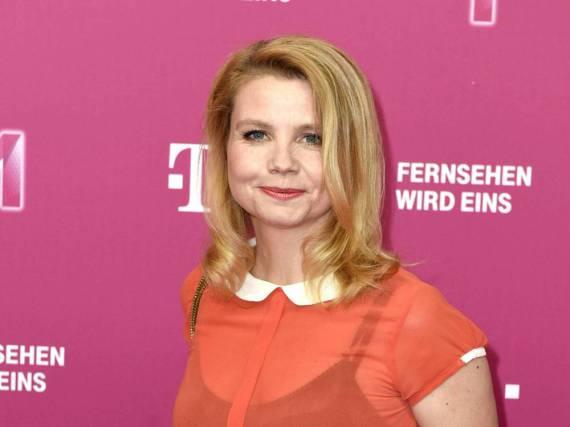 Auch Annette Frier ist im EM-Fieber