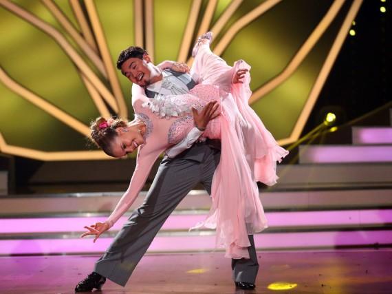 Victoria Swarowski und Erich Klann tanzten sich in die Herzen von Zuschauer und Jury