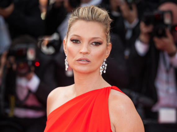 Kate Moss bei den Filmfestspielen in Cannes 2016