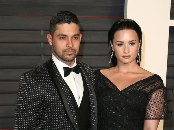 Im Februar traten Wilmer Valderrama und Demi Lovato noch als Paar vor die Kameras