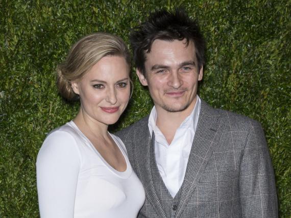 Keiner hat's gewusst: Aimee Mullins und Rupert Friend sind seit dem 1. Mai verheiratet