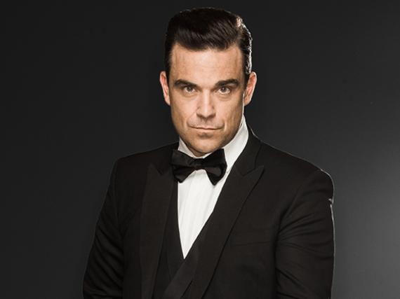 Robbie Williams vertraut auf die Kraft des Espressos
