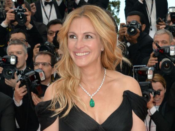 Julia Roberts bei den diesjährigen Filmfestspielen in Cannes