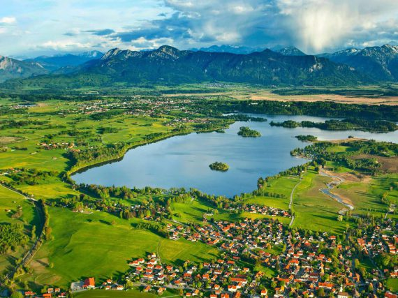 Ein Urlaubsparadies für Kinder: das Blaue Land in Oberbayern