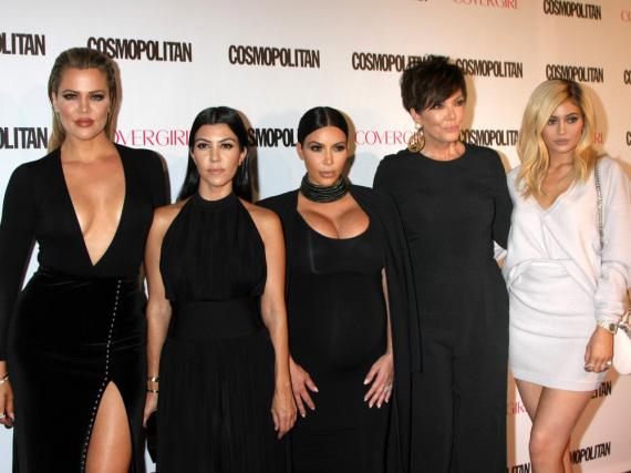 Familien-Bande: Der Kardashian-Jenner-Clan auf dem roten Teppich