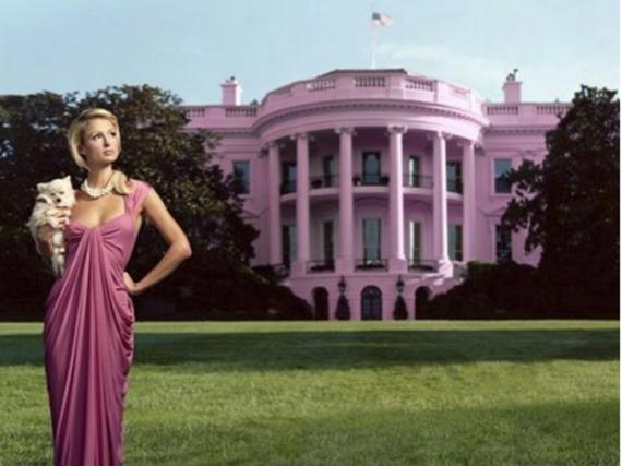 Wenn Paris Hilton US-Präsidentin wäre, würde es kein Weißes Haus mehr geben