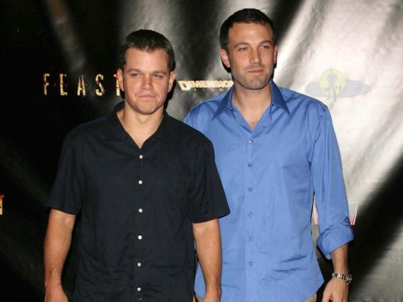 Ben Affleck und Matt Damon sind mit dem