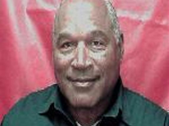 Dieses Polizeifoto zeigt den inzwischen ergrauten O. J. Simpson