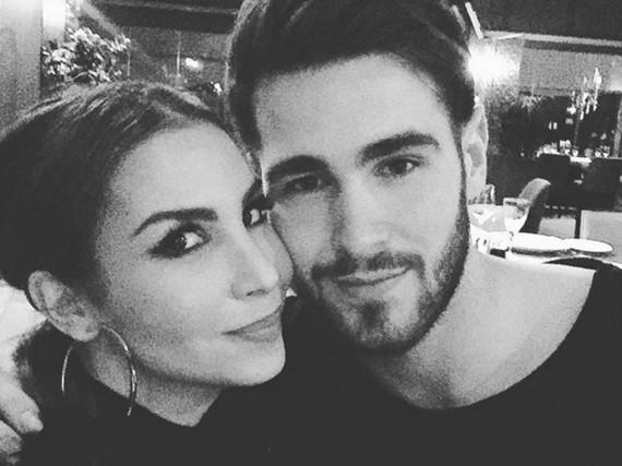 Sila Sahin und Samuel Radlinger haben sich nach neun Monaten Beziehung getraut