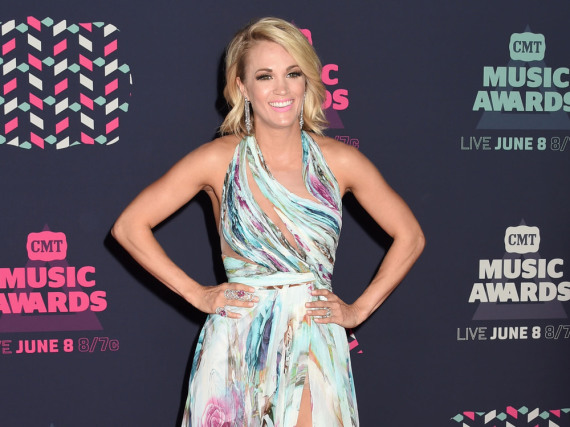 Carrie Underwood war der Star auf dem roten Teppich der CMT Music Awards