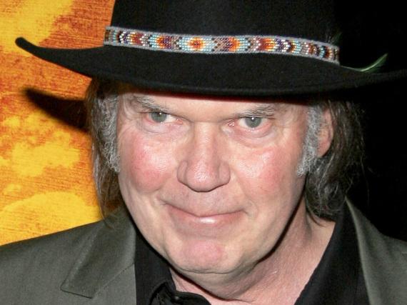 Neil Young macht ausschließlich das, was er für richtig hält