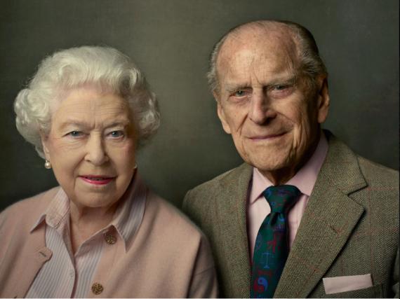 Elizabeth II. und Prinz Philip sind seit 1947 verheiratet