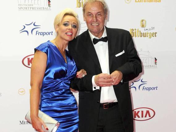 Jörg Wontorra und seine Ehefrau Heike bei einem gemeinsamen Auftritt im vergangenen Jahr