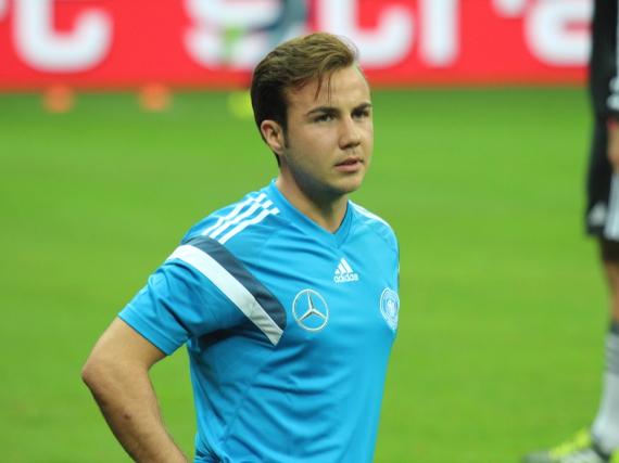 Mario Götze gab sein Debüt in der Nationalmannschaft im Jahr 2010